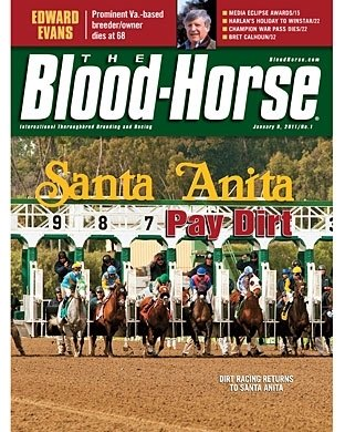 1/8/11 - DIRT RACING RETURNS TO SANTA ANITA