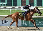 "I'm a Chatterbox flies home to take the Fair Grounds Oaks.<br><a target=""blank"" href=""http://photos.bloodhorse.com/AtTheRaces-1/At-the-Races-2015/i-jVg9nJ9"">Order This Photo</a>"