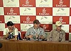Dubai World Cup 2015 - Team 'Chrome' Press Conf.