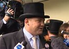 Peter Moody, trainer for Black Caviar.
