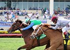 "Lady Lara comes home strong to win the Honey Fox.<br><a target=""blank"" href=""http://photos.bloodhorse.com/AtTheRaces-1/At-the-Races-2015/i-9QXx6HF"">Order This Photo</a>"