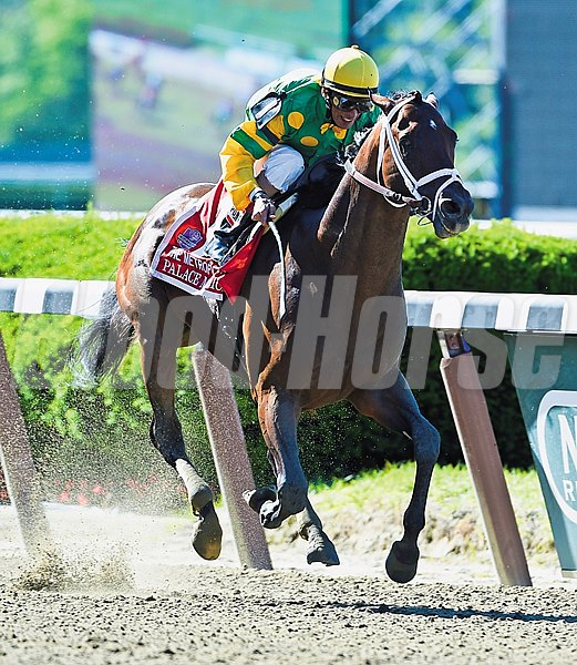 Palace Malice and John Velazquez take the Met Mile.