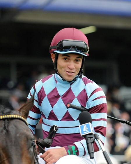 Joel Rosario on No Nay Never after the Norfolk Stakes at Royal Ascot.