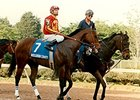 Miss Gibson County prior to the 1994 Prima Donna Stakes.