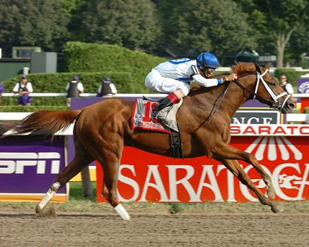 Lawyer Ron wins the 2007 Whitney.