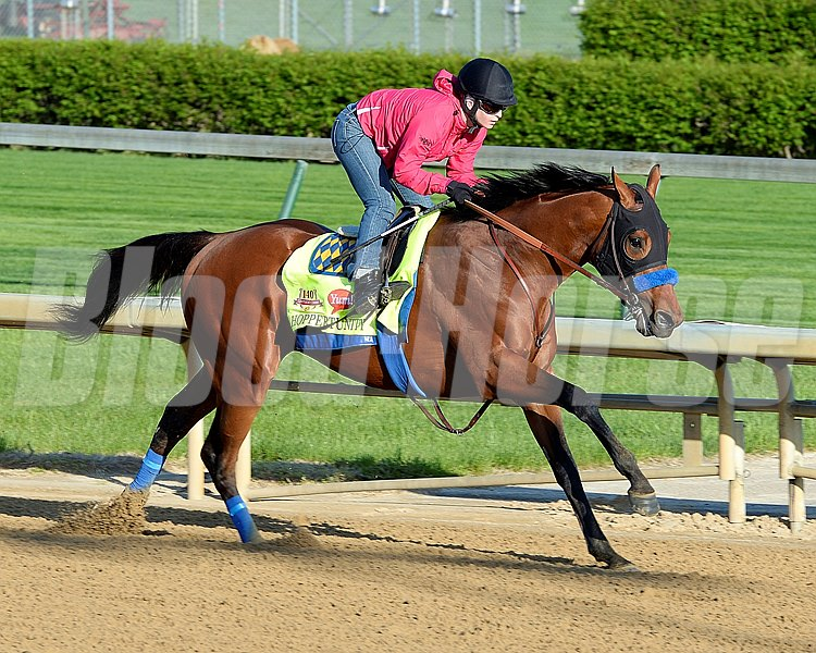 Caption:Hoppertunity with Rosie Napravnik