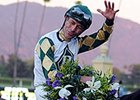 "Gary Stevens won his first Breeders' Cup Classic aboard Mucho Macho Man. <br><a target=""blank"" href=""http://photos.bloodhorse.com/BreedersCup/2013-Breeders-Cup/Classic/33150031_7ZnLk4#!i=2883094713&k=9h439ZJ"">Order This Photo</a>"