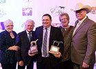 The California Chrome team celebrates their Eclipse Award-winning night.
