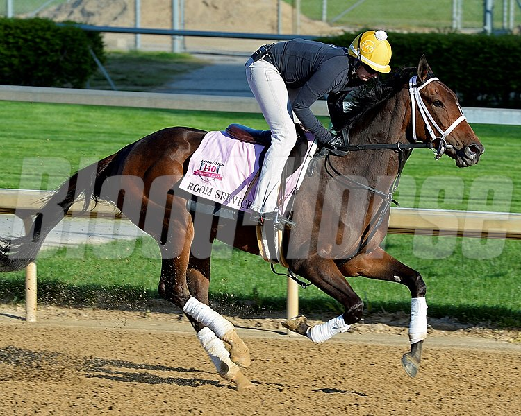 Caption: Room Service