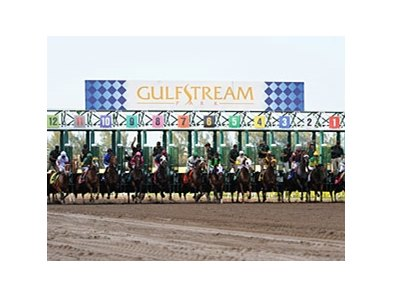 Gulfstream Park is one of the assets that MEC is trying to sell.