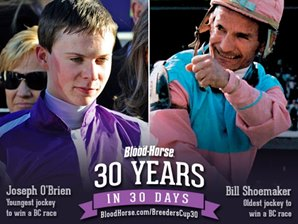30 Years in 30 Days: Oldest, Youngest Jockeys