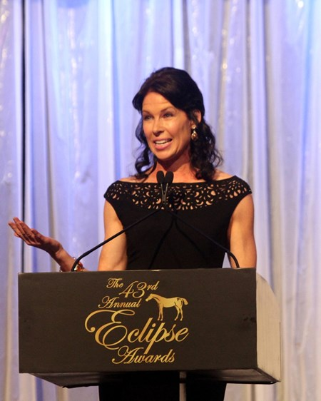 Janine Edwards hosts the Eclipse Awards.