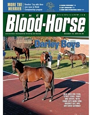 The Blood-Horse: 12/15/2007 issue