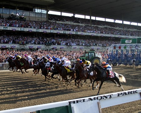 The field of The 145th Running of The Belmont Stakes
