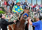Arkansas Derby winner American Pharoah
