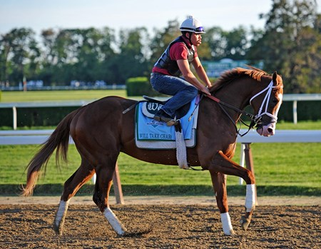 Will Take Charge at Belmont, Wednesday morning...