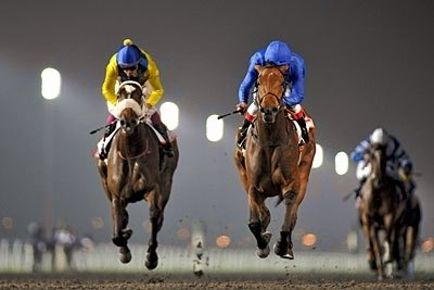 Khawalah wins the 2011 UAE Oaks.