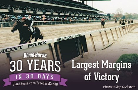 30 Years in 30 Days: Largest Victory Margins - BloodHorse