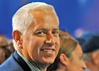 Trainer todd Pletcher at the2013 kentucky Derby Post Position Draw... © 2013 Rick Samuels/The Blood-Horse