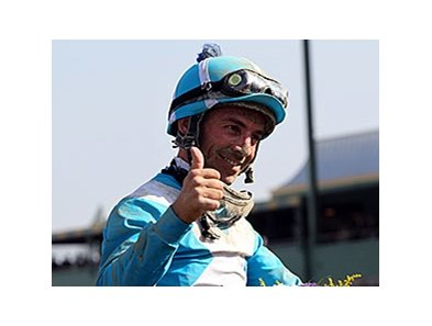Aaron Gryder is one of the finalists for the George Woolf Memorial Jockey Award.