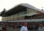 Crowd at Canterbury Park on recent Thursday night.