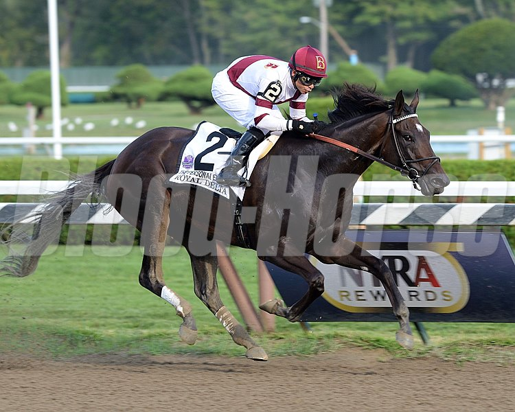 Royal Delta wins the Personal Ensign Invitational Handicap (gr. 1)
