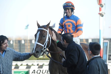 Caixa Eletronica wins the Fall Highweight Handicap (gr. 3)
