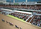 Artist rendering of the capital improvement project at Churchill Downs