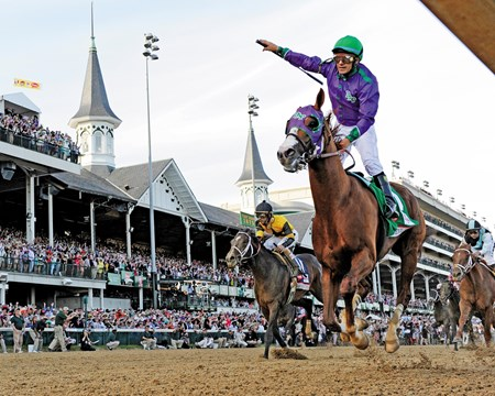 The Kentucky Derby (gr. IT) was voted the #1 best race of 2014.