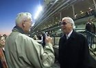 D. Wayne Lukas and Willis Horton on Clark Win