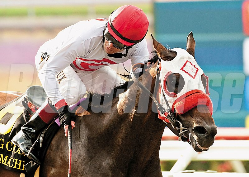 Big Macher was claimed for $20,000 in the 10th race at Del Mar on July 17, 2013. His later victories included the Grade I Bing Crosby Stakes.