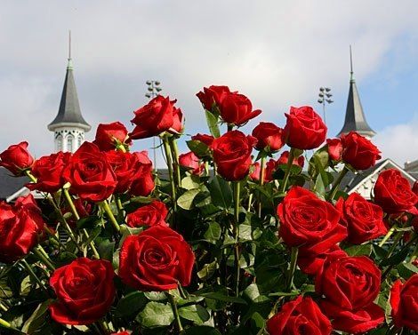 Roses and Spires? Must be time for the Kentucky Derby.