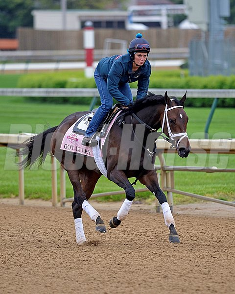 Caption: Got Lucky