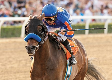 Experts thought Game On Dude had lost a step, but the gallant old gelding proved them wrong with a history-making third victory in the $750,000 Santa Anita Handicap (gr. I) March 8 at Santa Anita Park.