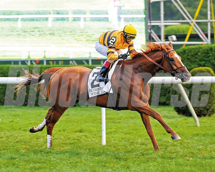Wise Dan wins the Fourstardave Handicap (gr. 2)