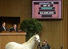 Awesome Maria, Hip 87, brought $4 million during the Keeneland November breeding stock sale.