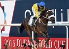 "Mubtaahij rolls to victory in the UAE Derby.<br><a target=""blank"" href=""http://photos.bloodhorse.com/AtTheRaces-1/At-the-Races-2015/i-9gC4ggZ"">Order This Photo</a>"