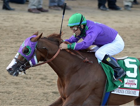 California Chrome wins the 2014 Kentucky Derby
