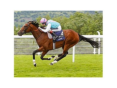 Frankel racing in England.