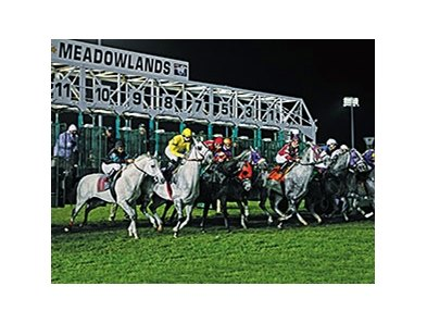 Meadowlands racing returns, the fall meet previously held races such as the Grey Ghost Starter Handicap.