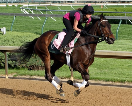Close Hatches on the track at Churchill Downs on May 2, 2013. Photo By: Chad B. Harmon
