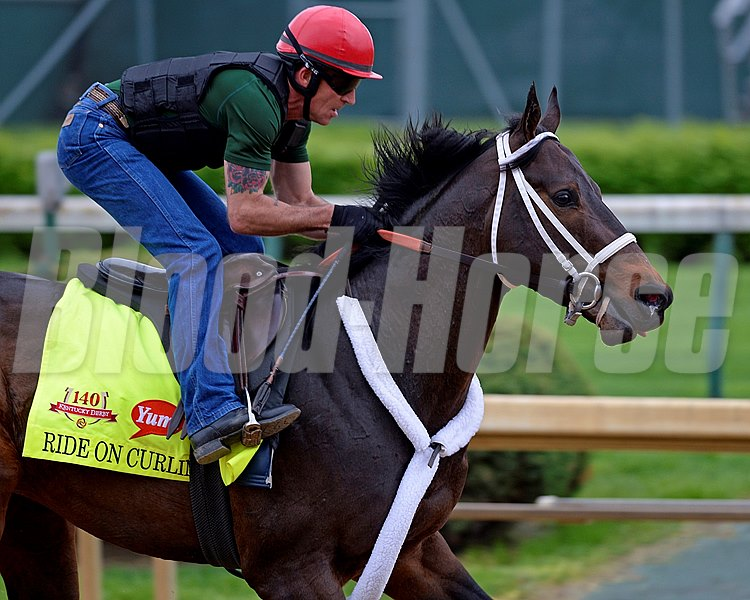 Caption: Ride On Curlin