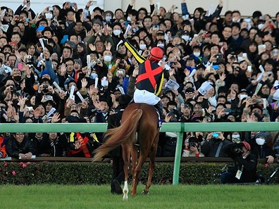 Orfevre, whose connections skipped the Japan Cup (Jpn-I) one month ago to concentrate on the Arima Kinen, concludes his racing career as Japan's second-highest top earner with a bankroll ¥1,576,213,000 ($15,087,709), ranking only behind all-time leading earner T.M.Opera O.
