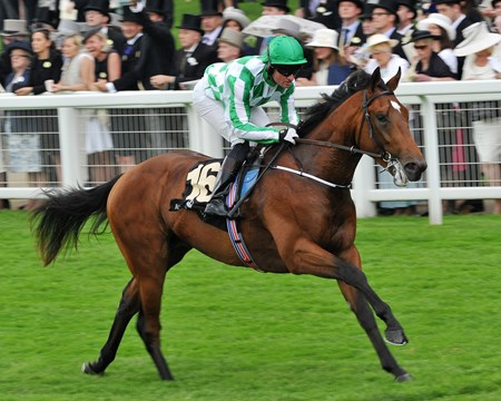 War Command ridden by Seamie Heffernan wins the Coventry Stakes June 18, 2013.