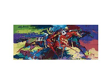 LeRoy Neiman's Flat Racing sold for $291,000.