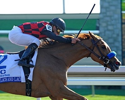 Lilacs and Lace wins the 2011 Ashland Stakes.