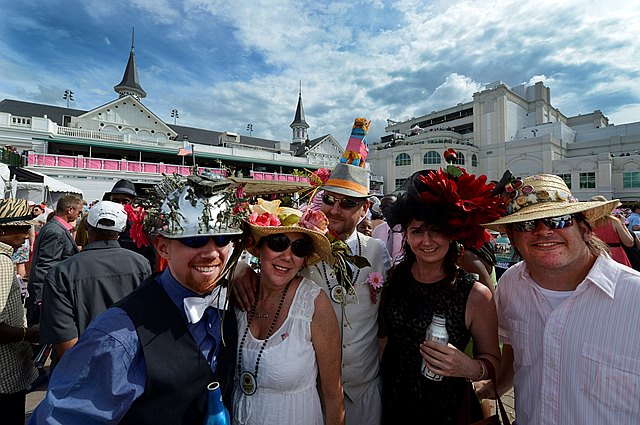 It was a beautiful day at Churchill Downs and fans were excited to be in attendance for the 139th running of the Kentucky Oaks.