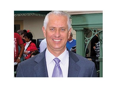 Trainer Todd Pletcher has Overanalyze and Drum Roll in the Futurity Stakes.