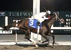 Royal Son cruises to victory in the John Battaglia Memorial Stakes at Turfway Park.