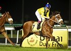 Musir streaks to victory in the Al Rashidiya at Meydan Racecourse.